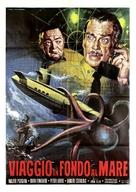 Voyage to the Bottom of the Sea - Italian Movie Poster (xs thumbnail)