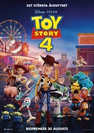 Toy Story 4 - Swedish Movie Poster (xs thumbnail)