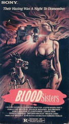 Blood Sisters - VHS cover (xs thumbnail)