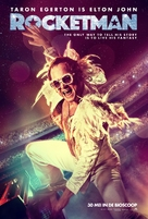 Rocketman - Dutch Movie Poster (xs thumbnail)
