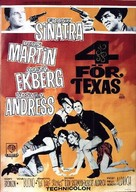 4 for Texas - Swedish Movie Poster (xs thumbnail)