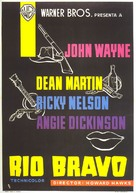 Rio Bravo - Spanish Movie Poster (xs thumbnail)
