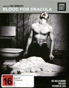 Blood for Dracula - Australian Movie Cover (xs thumbnail)