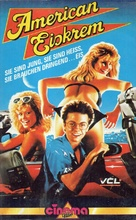Fraternity Vacation - German VHS movie cover (xs thumbnail)