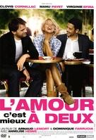 L'amour, c'est mieux à deux - French Movie Cover (xs thumbnail)