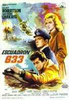 633 Squadron - Spanish Movie Poster (xs thumbnail)