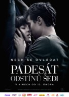 Fifty Shades of Grey - Czech Movie Poster (xs thumbnail)
