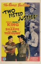 Two Fisted Justice - Movie Poster (xs thumbnail)