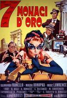 7 monaci d'oro - Italian Movie Poster (xs thumbnail)
