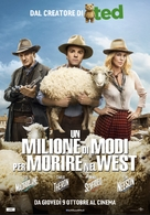 A Million Ways to Die in the West - Italian Movie Poster (xs thumbnail)