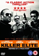 Killer Elite - British DVD cover (xs thumbnail)