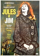 Jules Et Jim - Italian Movie Poster (xs thumbnail)