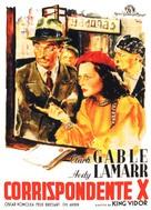 Comrade X - Italian Movie Poster (xs thumbnail)