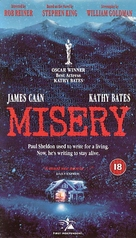 Misery - British Movie Cover (xs thumbnail)
