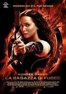 The Hunger Games: Catching Fire - Italian Movie Poster (xs thumbnail)