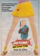 Gotcha! - German Movie Poster (xs thumbnail)
