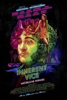Inherent Vice - German Movie Poster (xs thumbnail)