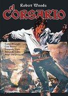 Il corsaro - Spanish DVD cover (xs thumbnail)