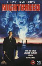 Nightbreed - British VHS movie cover (xs thumbnail)