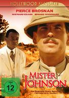 Mister Johnson - German DVD cover (xs thumbnail)
