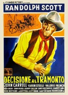 Decision at Sundown - Italian Movie Poster (xs thumbnail)