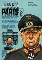 Paris brûle-t-il? - German Movie Poster (xs thumbnail)