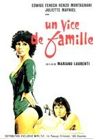 Il vizio di famiglia - Belgian Movie Poster (xs thumbnail)