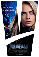 Valerian and the City of a Thousand Planets - Brazilian Movie Poster (xs thumbnail)
