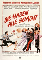 They All Laughed - German Movie Poster (xs thumbnail)