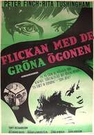 Girl with Green Eyes - Swedish Movie Poster (xs thumbnail)