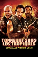 Tropic Thunder - French Movie Poster (xs thumbnail)