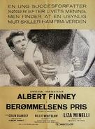 Charlie Bubbles - Danish Movie Poster (xs thumbnail)