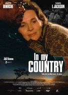 In My Country - Spanish Movie Poster (xs thumbnail)