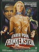 Flesh for Frankenstein - French Movie Poster (xs thumbnail)
