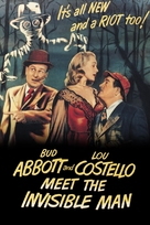 Abbott and Costello Meet the Invisible Man - DVD movie cover (xs thumbnail)