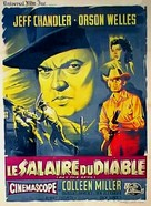 Man in the Shadow - French Movie Poster (xs thumbnail)