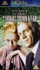 The Thomas Crown Affair - British VHS cover (xs thumbnail)