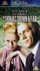 The Thomas Crown Affair - British VHS movie cover (xs thumbnail)