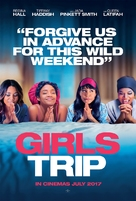 Girls Trip - British Movie Poster (xs thumbnail)