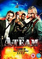 The A-Team - British DVD movie cover (xs thumbnail)