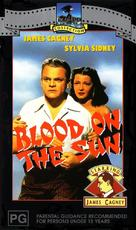 Blood on the Sun - Australian VHS movie cover (xs thumbnail)