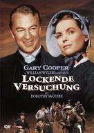 Friendly Persuasion - German DVD cover (xs thumbnail)