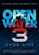 Cage Dive - Italian Movie Poster (xs thumbnail)