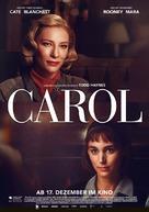 Carol - German Movie Poster (xs thumbnail)