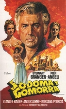 Sodom and Gomorrah - Spanish Movie Poster (xs thumbnail)