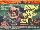 Voyage to the Bottom of the Sea - British Movie Poster (xs thumbnail)