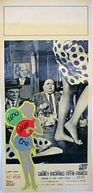 One, Two, Three - Italian Movie Poster (xs thumbnail)