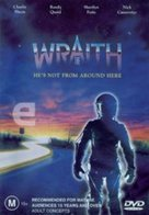 The Wraith - Australian DVD cover (xs thumbnail)