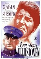 La grande illusion - Swedish Movie Poster (xs thumbnail)