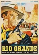Rio Grande - Mexican Movie Poster (xs thumbnail)